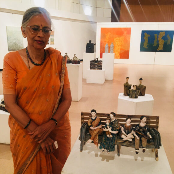 Weaving stories in clay: Artist Shalan Dere