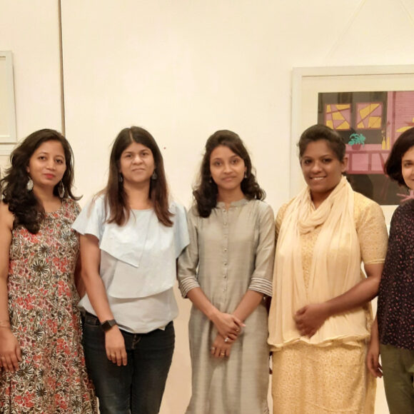 Minds Engraved: A group exhibition by five young artists