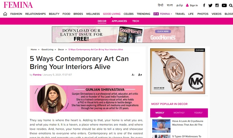 5 Ways Contemporary Art Can Bring Your Interiors Alive