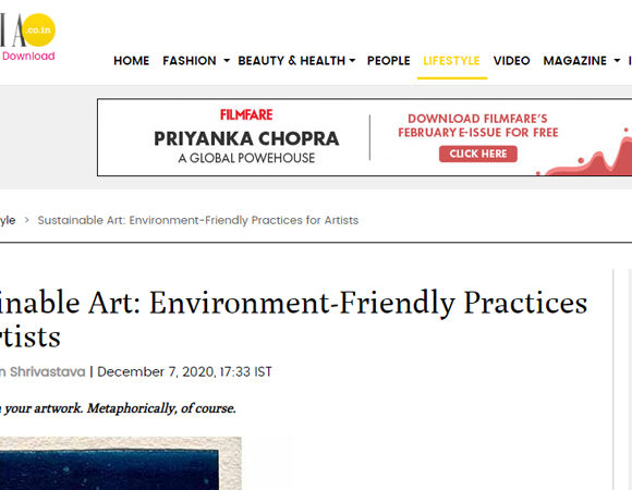 Sustainable Art: Environment-Friendly Practices for Artists