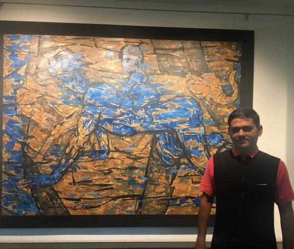 Exhibition review: New talent Santoshkumar R. Patil