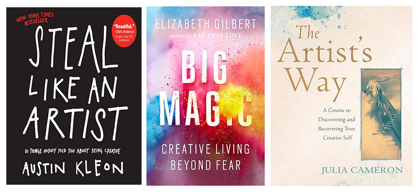 Books that spark creativity
