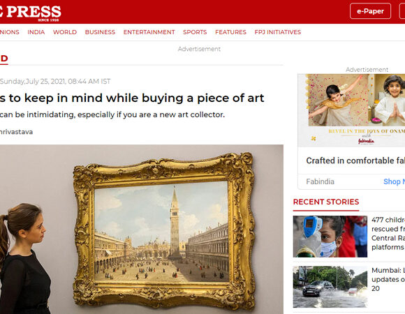 5 things to keep in mind while buying a piece of art