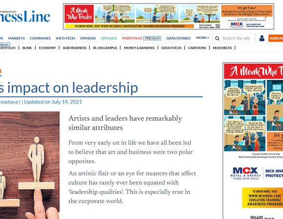 Art's impact on leadership