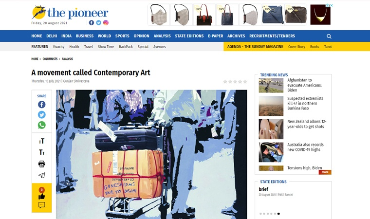 A movement called Contemporary Art