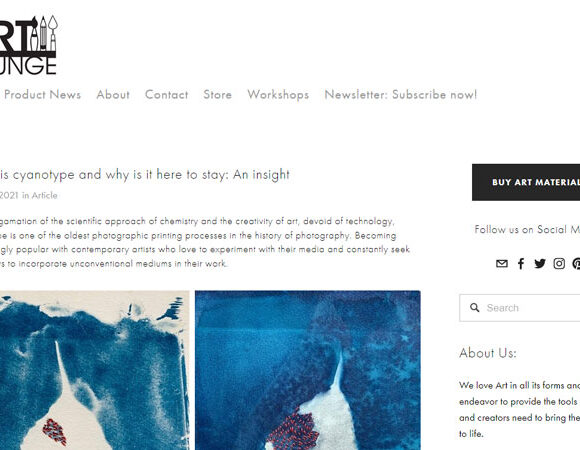 What is cyanotype and why is it here to stay: An insight