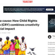 Art for a cause: How Child Rights and You (CRY) combines creativity and social impact